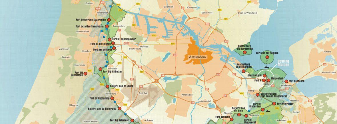 bezoek met veerdienst amsterdam en almere een fort van de stelling van amsterdam, forteiland pampus of kasteel muiderslot