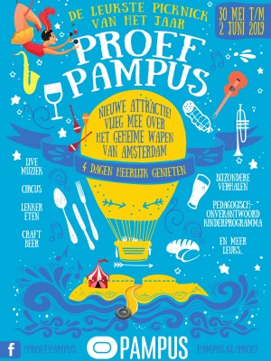 Pampus Poster Proef Pampus