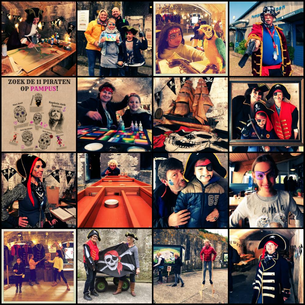 vaar tijdens de piratenweek in de meivakantie mee van amsterdam ijburg naar pampus