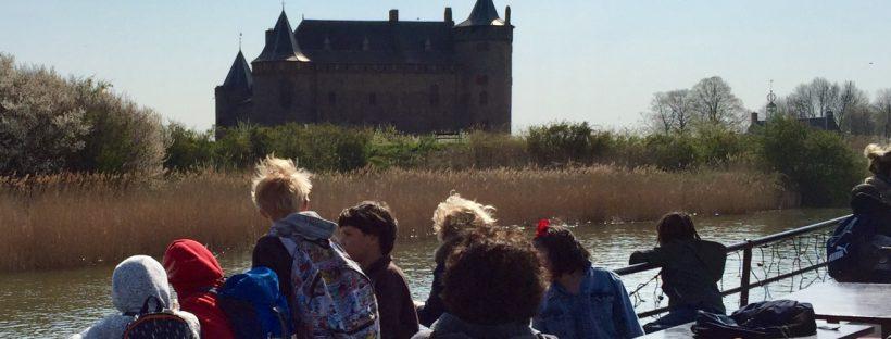 Kasteel het Muiderslot Muiden veerdienst Amsterdam