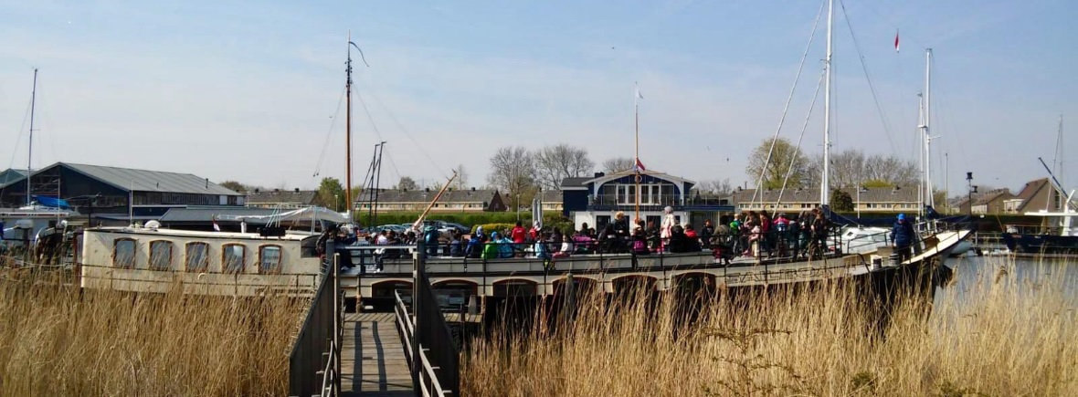 mei vakantie Pampus Muiderslot veerdienst Amsterdam