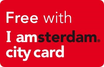 I Amsterdam sticker Free with City Card to medieval amsterdam castle muiderslot or fortress island pampus