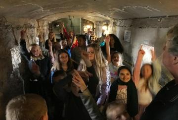 Boot naar Pampus schoolreis educatief