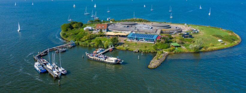 History Pampus Amsterdam Tourist Ferry